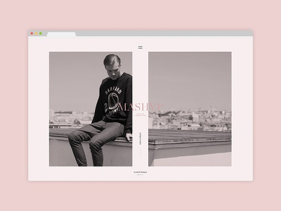 mashvp.com webdesign minimal smooth scroll parallax france