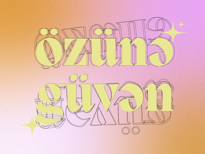 Özünə güvən illustration graphic design digital art design