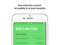 Air Lookout App Store Screenshots