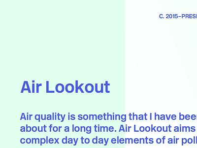 Portfolio Preview 2 air lookout case study colors portfolio