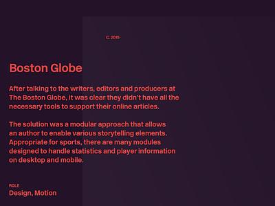 Portfolio Preview 7 boston globe case study colors portfolio