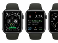 Air Lookout: Apple WatchOS Complications