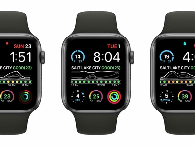 Air Lookout: Apple WatchOS Complications (Graphic Rectangular) vizualization chart graph apple watch watchos ios complication