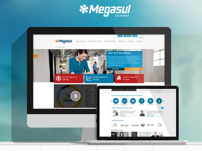 Megasul Web Presence Redesign