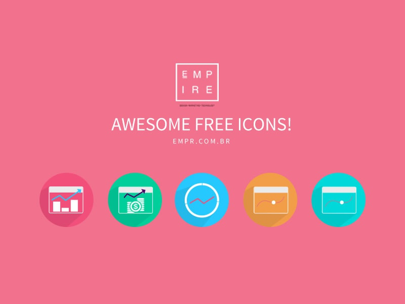 Free PSD Chart Icons! icons free business chart graphic