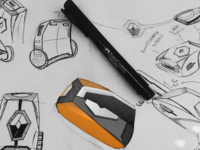 Renault Product Sketches