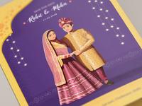 Indian wedding Invitation - 2