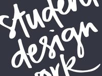 Student design work