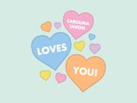 The Carolina Union loves you