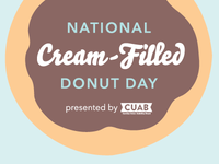 National Cream-Filled Donut Day