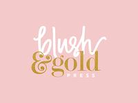 Blush & Gold Press