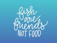 Fish-friendly shark motto
