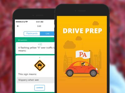 Driving app