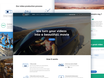 Video Production homepage