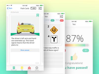 Onboarding App Screens