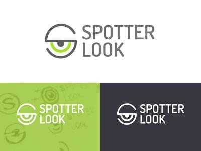 SpotterLook logo concept design