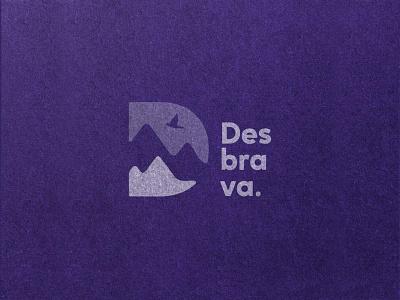 Desbrava. d letter logo d letter logo design logotype logos logo logodesign identitydesign identity design branding design branding brand identity brand design brand