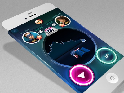Mobile App mobile app iphone game finance