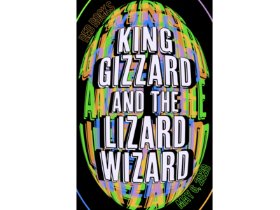 Custom King Gizzard and the Lizard Wizard Poster
