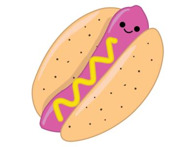 Cute Hot Dog illustrator