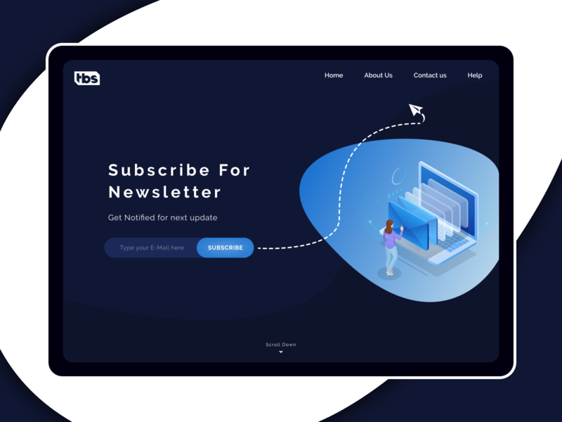 Daily UI 026 Subscribe newsletter design subscription illustration ecommerce challenge web color design ui ux dailyui minimal