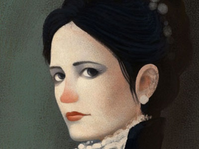 Vanessa illustration portrait vanessa ives penny dreadful gaia bordicchia