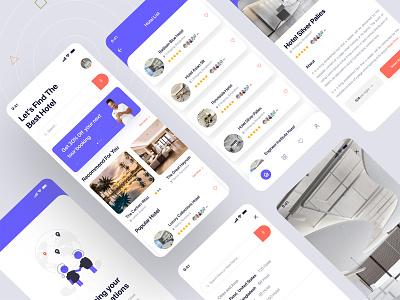 Hotel Booking App ios app android app uiux ui design travel app trveling trveling travel trip hotel hotel app