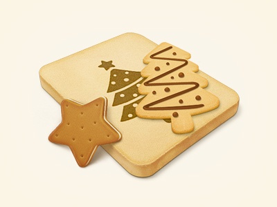 Cookies icon cookie christmas biscuit