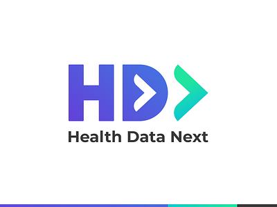 Logo design for healthcare data analytics ux care branding cloud next gen next logo design dataviz analytics data healthcare logo