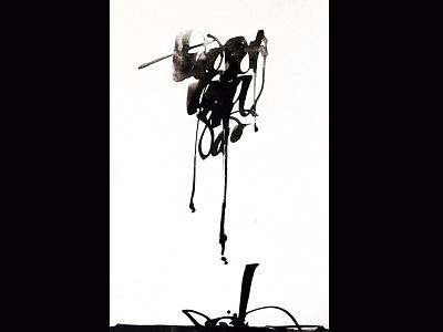 Todo pasa gestual arte art caligrafia tinta colapen tiralineas ink calligraphy