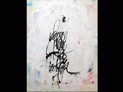 todo se transforma gestual arte art caligrafia tinta colapen tiralineas ink calligraphy