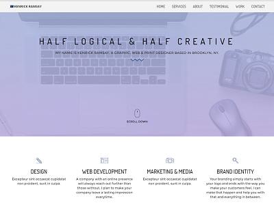 My Portfolio Website (Update) javascript css design development web html portfolio