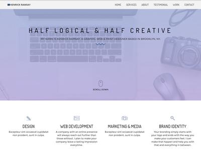 My Portfolio Website (Update)