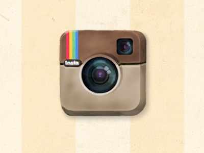Instagram Vintage Icon