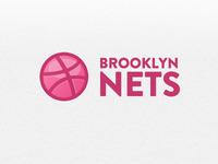 Nets + Dribbble logo