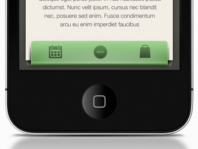 Interface Iphone