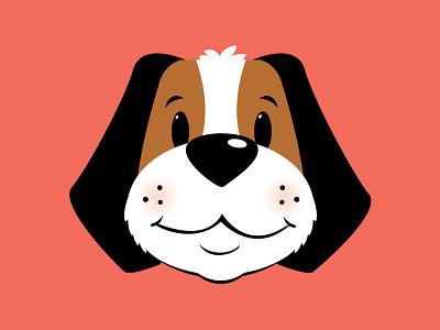 Saint bernard puppy dog saint bernard puppy