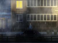 Pixel art rain street