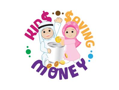Qatari Kids saving Money