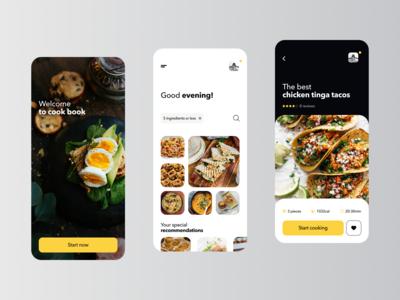 Food Receipts App