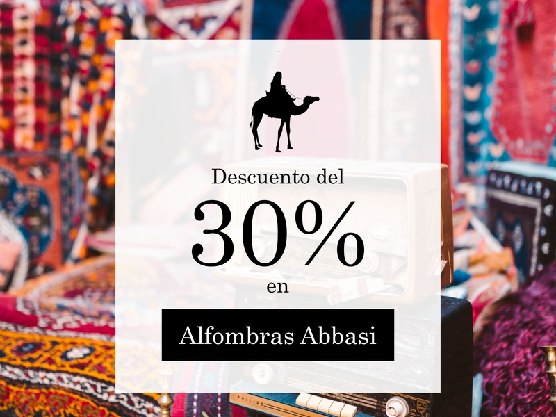 Instagram ad for Abbasi Carpets adobe photoshop cc typography photography instagram post content creation branding and identity print design branding graphic design