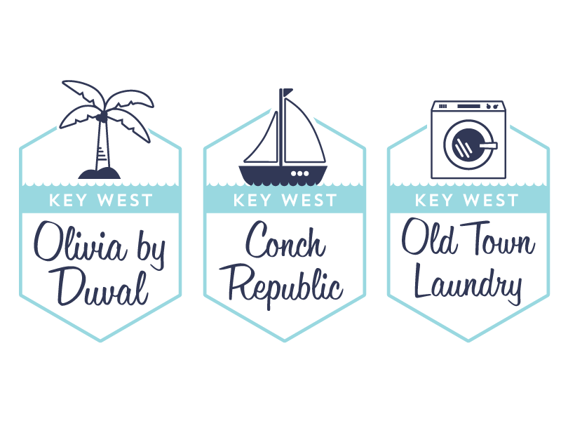 Old Town Suites logo branding icons