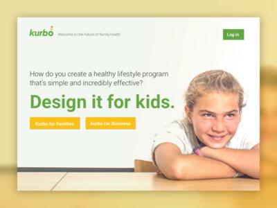 Kurbo Health Splash Page