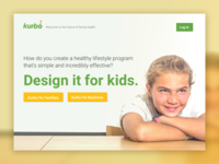 Kurbo Health Splash Page