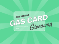 The Great Gas Card Giveaway Identity