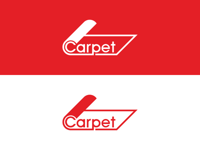 Carpet Logo advertising carpet design creative branding identity minimal symbol concept logo