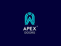 Apex Doors Logo Concept