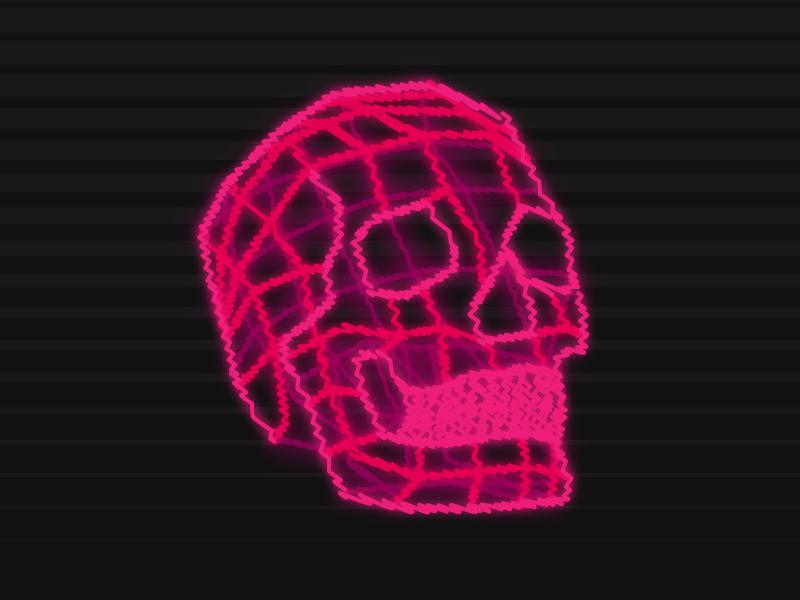 Neon Skull skull neon