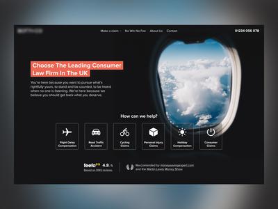 Flight Claims Concept