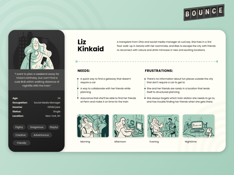 The Best-Looking Persona Document I'll Ever Make user research figmadesign figma illustration research ux design uxd ux persona